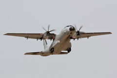 EADS CASA C-295 Portuguese taking off. Royalty Free Stock Photography
