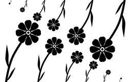 eady bakgrund redigerar blomman till vektorn Royaltyfria Bilder
