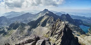 Tatra Mountains, Poland, Orla Perc, Eagle Path royalty free stock images