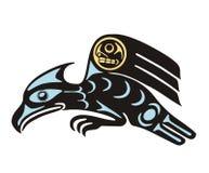 Eagle. Mythological image art style eagle Royalty Free Stock Images
