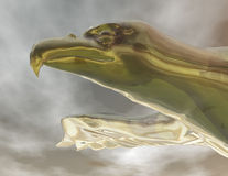 Eagle. Digital visualization of an eagle Royalty Free Stock Photo