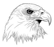 Eagle. In the form of a tattoo Stock Photo