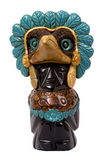 Eagle. A bird of god in tradition of beliefs of Indians of a tribe of the Maya stock photo