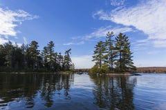 Eagle湖 免版税库存图片