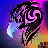 Eagle-Abstraktion Stockbild