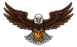 Eagle Basketball Sports Mascot Royalty Free Stock Photo