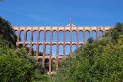 Eagle Aqueduct em Nerja na Andaluzia, Espanha imagem de stock royalty free