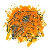 Eagle Art Colorful illustrazione vettoriale