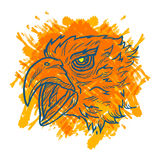 Eagle Art Colorful Royalty Free Stock Photos