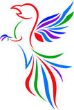 Eagle Art Logo Fotografie Stock Libere da Diritti