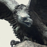 Eagle as a symbol of power, grandeur, and power. Statue of an eagle as a symbol of power, grandeur, and power Stock Photography