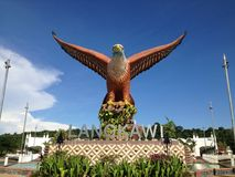 Eagle auf Langkawi-Insel Lizenzfreie Stockfotografie