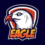 Eagle Badge Lizenzfreie Stockfotografie