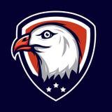 Eagle Badge Stockfotos