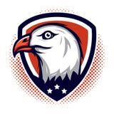 Eagle Badge Lizenzfreies Stockfoto