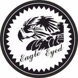 Eagle Badge Icons, logo pour le concept et les apps mobiles de Web illustration libre de droits