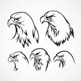 Eagle badge template. Royalty Free Stock Photography