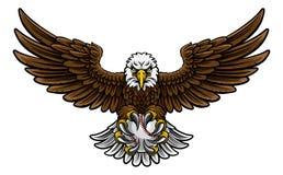 Eagle Baseball Sports Mascot Stock Images