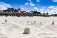 Eagle beach in Aruba 25 January 2018 royalty free stock photo