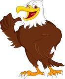Eagle beduimelt omhoog Royalty-vrije Stock Afbeeldingen