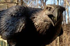 Eagle-beeldhouwwerk in het Leven Museum, het Nieuws van Nieuwpoort, VA Stock Foto's