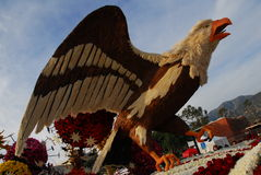 Eagle bird float at the 122nd tournament of roses Stock Photography