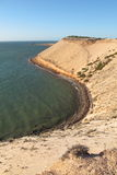 Eagle bluff, shark bay, western australia Royalty Free Stock Image