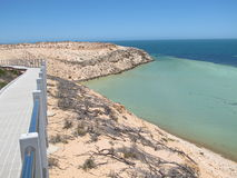 Eagle bluff, shark bay, western australia Stock Photo