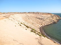 Eagle bluff, shark bay, western australia Stock Photos