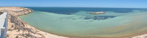 Eagle bluff, shark bay, western australia Stock Photography
