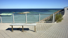 Eagle Bluff. View point near Shark Bay, Western Australia stock photography