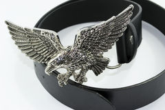 Eagle buckle Royalty Free Stock Image