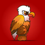 Eagle cartoon Royalty Free Stock Photo