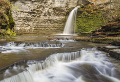 Eagle Cliff Falls Royaltyfri Bild