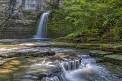 Eagle Cliff Falls. At Havana Glen Park In New York Royalty Free Stock Photos