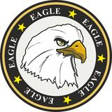 eagle coat of arms Royalty Free Stock Photo