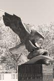 Eagle conmemorativo Foto de archivo libre de regalías