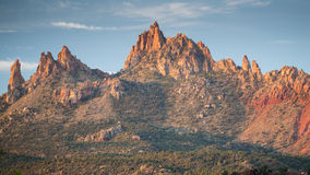 Eagle Crags West, Zion, Utah Royalty Free Stock Photos