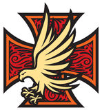 Eagle cross Stock Photos