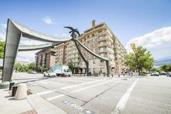 Eagle de Salt Lake City, Utá, EUA Fotografia de Stock