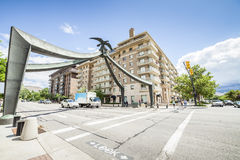 Eagle de Salt Lake City, Utah, Etats-Unis Photographie stock