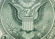 Eagle Dollar Macro Royalty Free Stock Photo