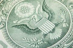 Eagle Dollar Macro Royalty Free Stock Photos