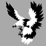 Eagle drawing Stock Images