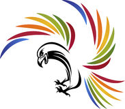 Eagle-embleem Stock Afbeeldingen