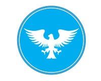 Eagle-embleem Stock Afbeelding
