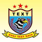 Eagle-embleem stock illustratie