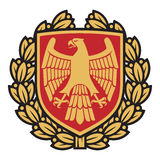 Eagle emblem Stock Photo