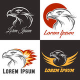 Eagle Emblem Set Stock Image
