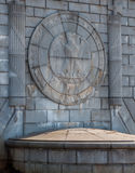 Eagle Emblem Stonework on the Arlington Memorial Bridge - Washin royalty free stock images